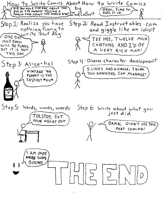 How to write comics about how to write comics